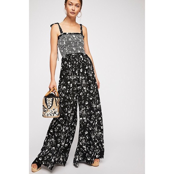 388e5504a1f0 FREE PEOPLE COLOR MY WORLD WIDE LEG JUMPSUIT
